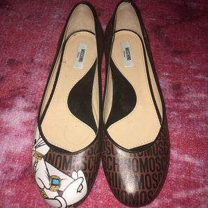 Authentic Moschino Looney Tunes ballet flats